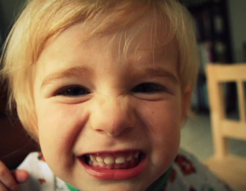 Big smiley face