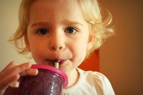 Smoothie face