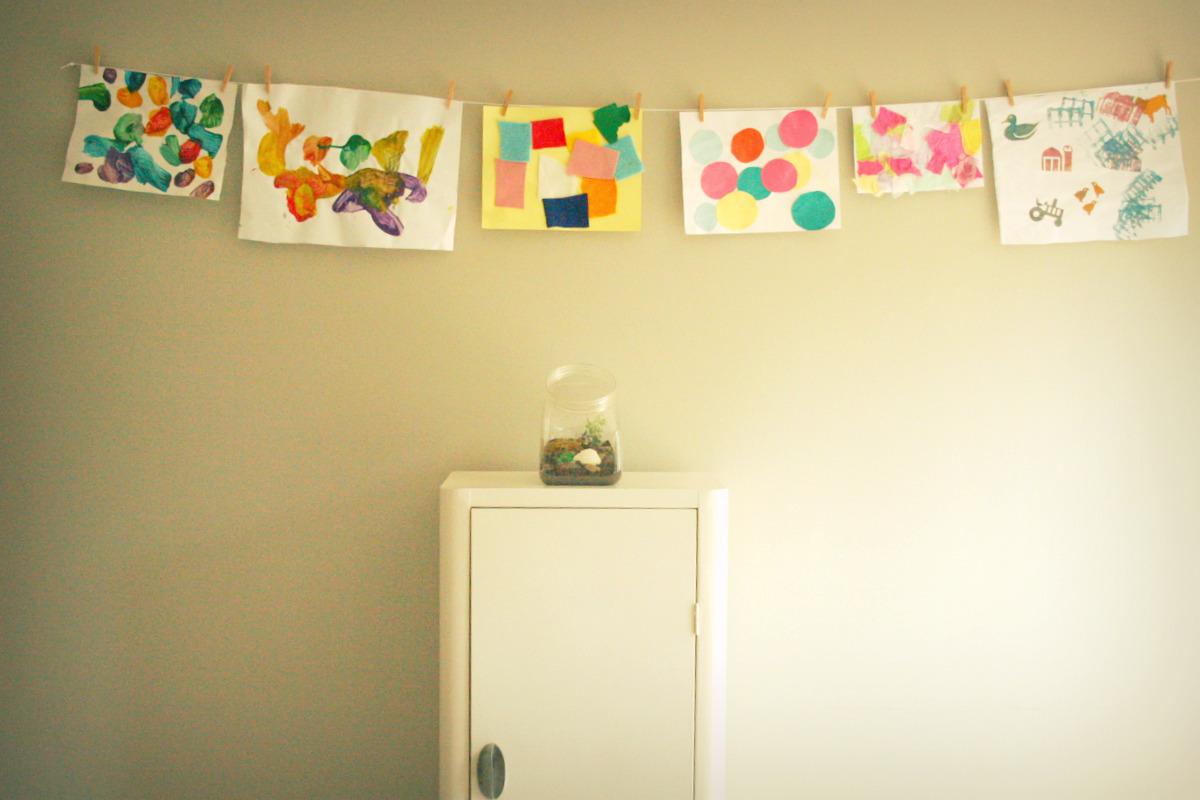 art wall. - :: a happy nest ::