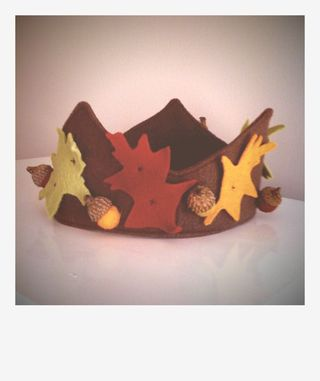 Leaf finished crown