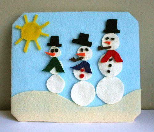 Snowman board 1