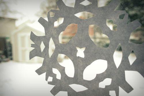 Paper snowflakes 1
