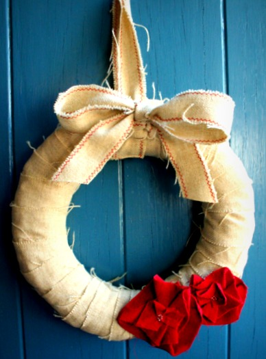 Front door wreath 1