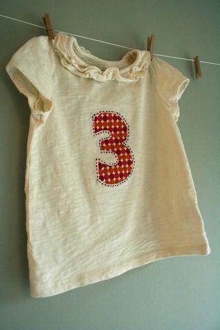 Number shirt 1