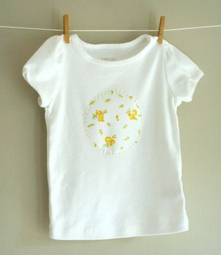 65 baby shirt yellow