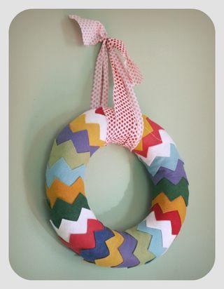 Chevron wreath 1
