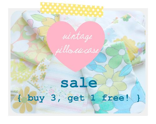 Pillowcase sale