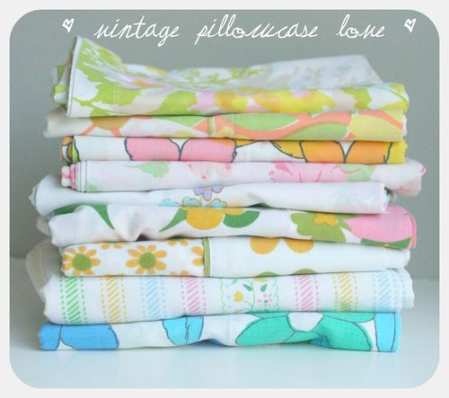 Pillowcase stack